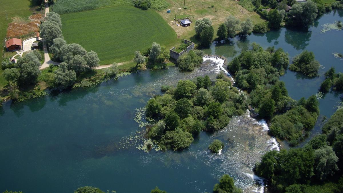 The river Mrežnica's precious ecosystem needs prompt action by the EBRD and PBZ © Tomislav Knapić