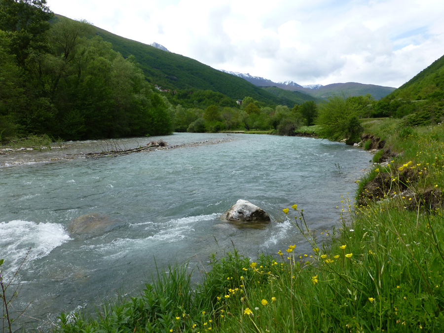 New hope for the Mavrovo National Park. Ther river Radika will stay free flowing. © Theresa Schiller/ EuroNatur