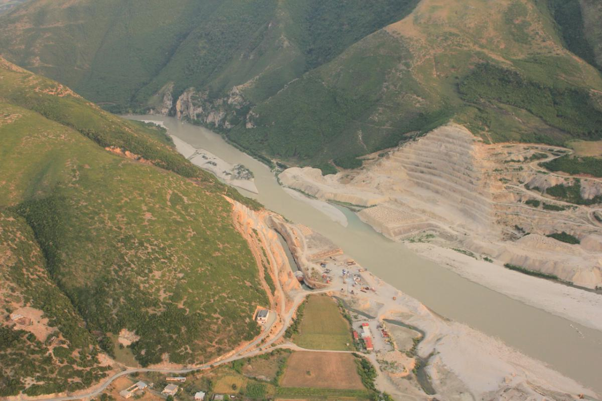 The construction of HPP Kalivac has long been halted. Now a new concession contract has been signed. © Roland Dorozhani