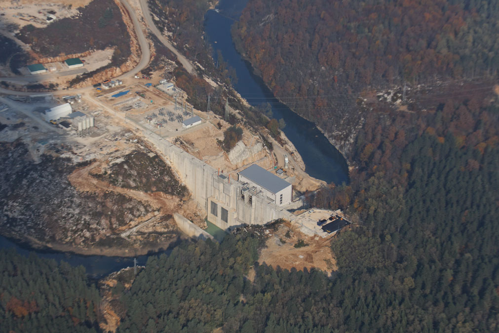 The Lesce hydropower plant on Croatia's river Dobra has caused numerous problems since its commissioning in 2010. © Goran Safarek.