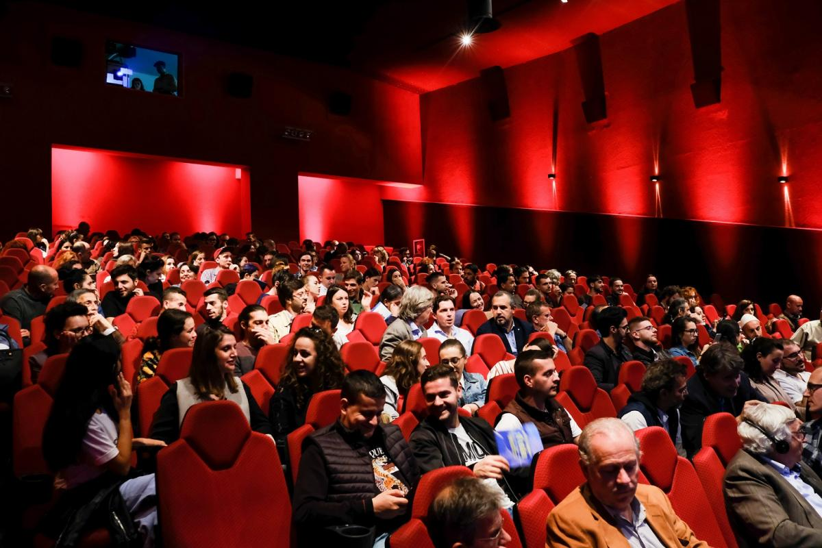The Wild Rivers Night took place in in the largest cinema of Tirana – Kinema Millenium © Nick St. Oegger