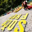 """Slowenien: In diesem Jahr präsentierte die Balkan Rivers Tour auch ein """"Students for Rivers Camp"""" - einen interdisziplinären Ansatz zum Flussschutz, der kleinen lokalen NGOs Möglichkeiten für neue Kämpfe zum Schutz von Wildflüssen liefert. © Mitja Legat"""