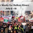 Action Weeks for Balkan Rivers took place in 8 Balkan countries in July 2019 © Radomir Duvnjak