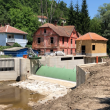 Serbia, Day 2:  Construction site in the midst of the village Rakita. Locals are strongly opposing this project. © Sanja Kljajic