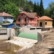 Serbien, Tag 2: Baustelle inmitten des Dorfes Rakita. Die betroffenen Anwohner sprechen sich klar gegen das Wasserkraftwerk aus © Sanja Kljajic
