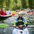 DAY 1 - Former Olympic athlete Rok Rozman, leader of the Balkan Rivers Tour © Jan Pirnat