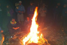 Day 29-33: A camp is no camp without a campfire!