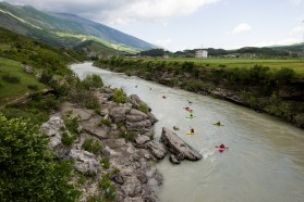 Day 29: The first day on the qeen of European rivers: the Vjosa in Albania