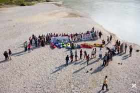 Tag 33: Protest an der Pocem Brücke