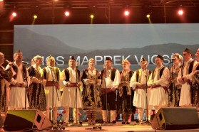 "Isopolyphonic group ""Grupi Polifonik Lunxhëria"" from Gjirokastër"