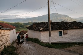 'Blue Heart' screenings in the Vjosa valley started in the village of Kut – one of the main sites of the film - on May 7.