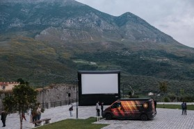 The 'Blue Heart' screening tour in the Vjosa valley continues in the town of Tepelena on May 9.