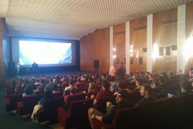 About 250 people attended the 'Blue Heart' screening in Sofia/Bulgaria on May 16, organized by the NGO Balkanka. The screening was scheduled on the night before the EU-Western Balkans summit was held in Sofia.