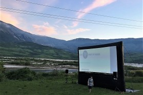 The screening in Qesarat took place on May 11.