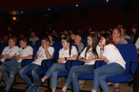 About 100 people attended the screening in Shkodra in the north of Albania.