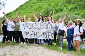 The brave women of Kruščica, who have been keeping a construction site occupied for over 220 days and nights in order to prevent the construction of a dam.