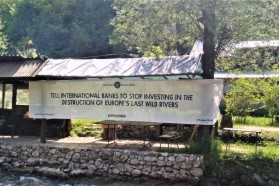 Patagonia has also started a petition which calls on international banks to stop investing in hydropower development in the Balkans.