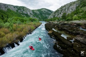 Day 12 - Buna channel rapid right before the confluence with Neretva river, Bosnia