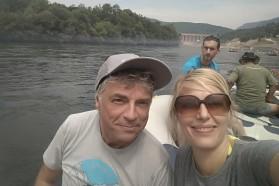 Ulrich Eichelmann and Cornelia Wieser from Riverwatch