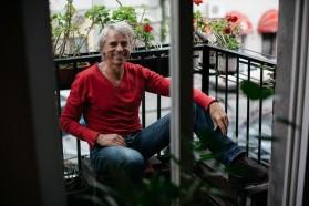 Ulrich Eichemann/Riverwatch, international coordinator of the Blue Heart campaign.