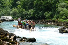 Due to its beauty and intactness, the Tara is quite popular for rafting.