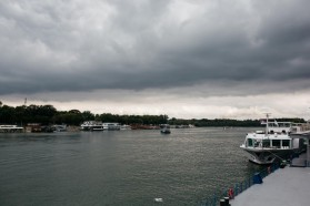 On the boat: On the last day of the event, participants enjoyed a river boat shuffle on Sava and Danube.