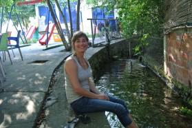 Romy Durst (EuroNatur) - campaign coordinator.