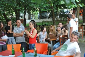 Basecamp in Pocemi.