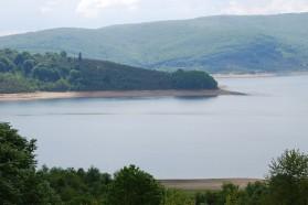 Mavrovo Lake.