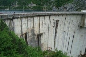 Dam on the Piva River (ME): destroyed Huchen habitat