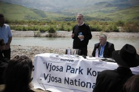 """The Vjosa is of  incredible importance for the biodiversity, especially for the fish, molluscs and other species"", Spase Shumka, one of Albania's leading scientists and biodiversity expert (PPNEA), confirms."