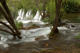The Kravice Waterfalls in Bosnia&Herzegovina, fed by the Trebižat River, a major tributary of the Neretva River.