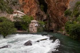 Buna River's spring – a unique karst spring in Bosnien&Herzegowina.