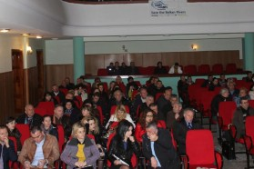 About 130 residents of Tepelena and Memaliaj attended the debate in Tepelena on February 6, 2015. They also signed the declaration to stop the dam projects and protect the river as a national park instead.