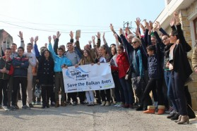 About 80 people participated in our last Vjosa Tour event  on March 13th in Selenica, Albania.