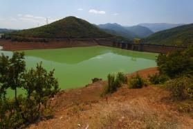 Shkopet reservoir.