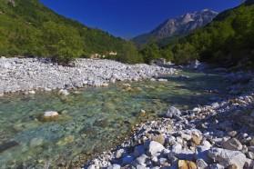 Valbona in Albania.