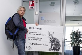 """The credibility of the World Bank's environmental standards (operational policies) is highly questionable once the Bank finances hydropower plants in national parks and thereby rendering the last Balkan Lynxes extinct. Director Goldstein, stop the funding!"" demands Ulrich Eichelmann, CEO of Riverwatch."