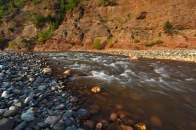 Shkumbin River in Albania.