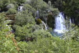 Waterfalls at Martin Brod.
